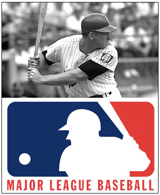 Harmon Killebrew and the MLB Logo